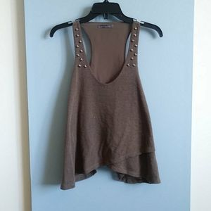 Size small / Suzy shier studded camisole stud top